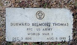 Durward Belmont Thomas