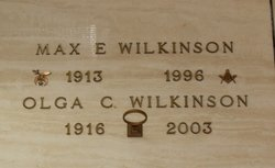 Max Earl Wilkinson