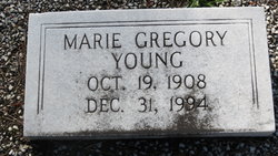 Marie <I>Gregory</I> Young