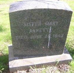Sr Mary Annette