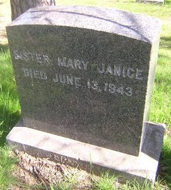Sr Mary Janice