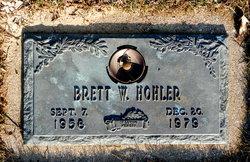 Brett W. Hohler