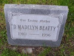 Dora Madelyn <I>Sanders</I> Beatty