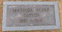 Matilda <I>Pogue</I> Taylor