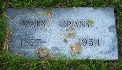 Mary G. <I>Roady</I> Grant