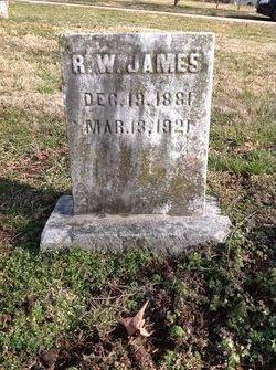 R. W. James
