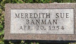 Meredith Sue Banman