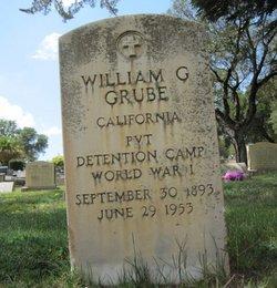 Pvt William G. Grube