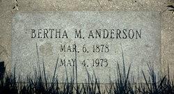 Bertha Marie <I>Kjos</I> Anderson