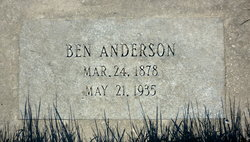 "Bernhard Olai ""Ben"" Anderson"