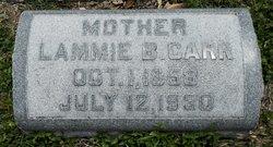 Lammie Belle <I>Van Dorn</I> Carr