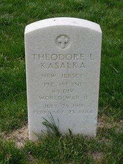 PFC Theodore L Kasalka