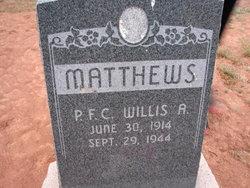 Willis Alpheus Mathews