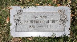 Ina Pearl <I>Leatherwood</I> Autrey