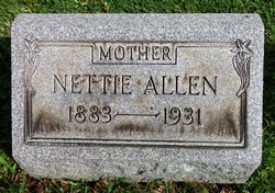 Nettie <I>Phillips</I> Allen