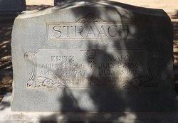 Mary <I>Finck</I> Straach