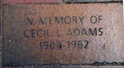 Cecil LaVelle Adams