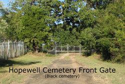 Hope Well Methodist Episcopal Church Cemetery