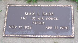 Max Leon Eads