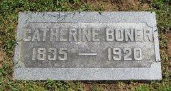 Catherine E <I>Hartley</I> Boner