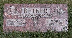 """Bernard B """"Barney"""" Betker"""