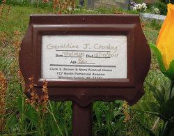 Geraldine <I>Joel</I> Crosby