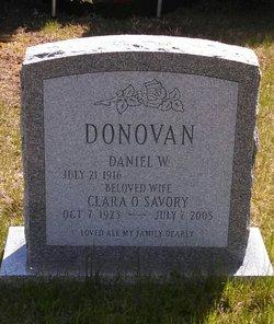 Clara O. <I>Savory</I> Donovan