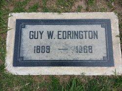 Guy Willert Edrington