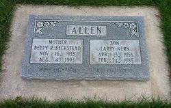Betty Rae <I>Beckstead</I> Allen