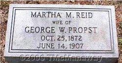 Martha M. <I>Reid</I> Propst