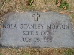 Nola <I>Stanley</I> Morton