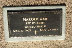 PFC Harold Aab