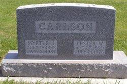 Myrtle J. Carlson