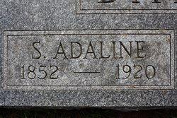 Sarah Adaline <I>Walton</I> Barron