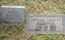 Camilla <I>Sanders</I> Anderson
