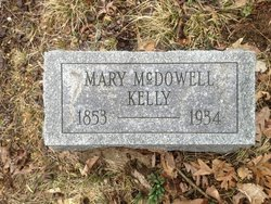Mary <I>McDowell</I> Kelly