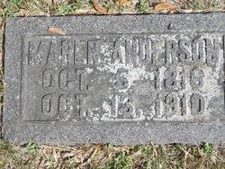 Maren <I>Hansdatter</I> Anderson