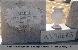 Mabel Inez <I>Teague</I> Andrews