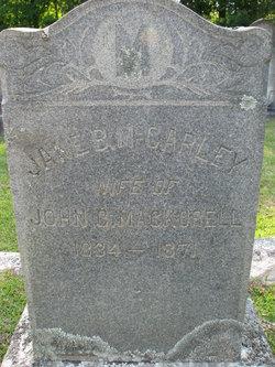 Jane B. Hicklin <I>McCarley</I> MacKorell