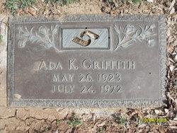 Ada K <I>Kurtz</I> Griffith