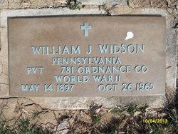 William J Widson