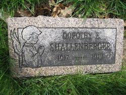 Dorothy E. Shallenberger