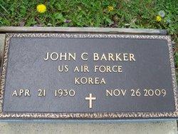 """John Cleveland """"John"""" Barker"""
