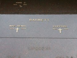 Mae H. <I>Diggs</I> Barnett