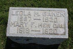 Leola M. <I>Stockard</I> Baker