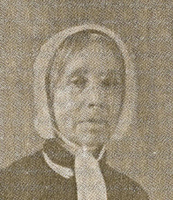 Jane Charlotte <I>Blackburn</I> Washington