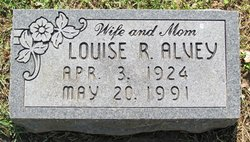 Louise Rosemarie <I>Williams</I> Alvey
