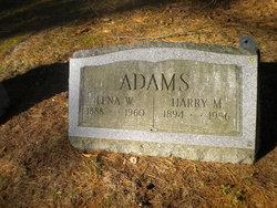 Lena <I>Weaver</I> Adams
