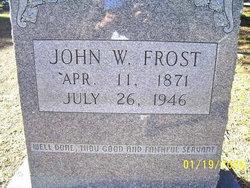 John William Frost, Sr