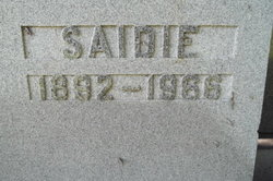 Saidie <I>Hermalin</I> Heatter